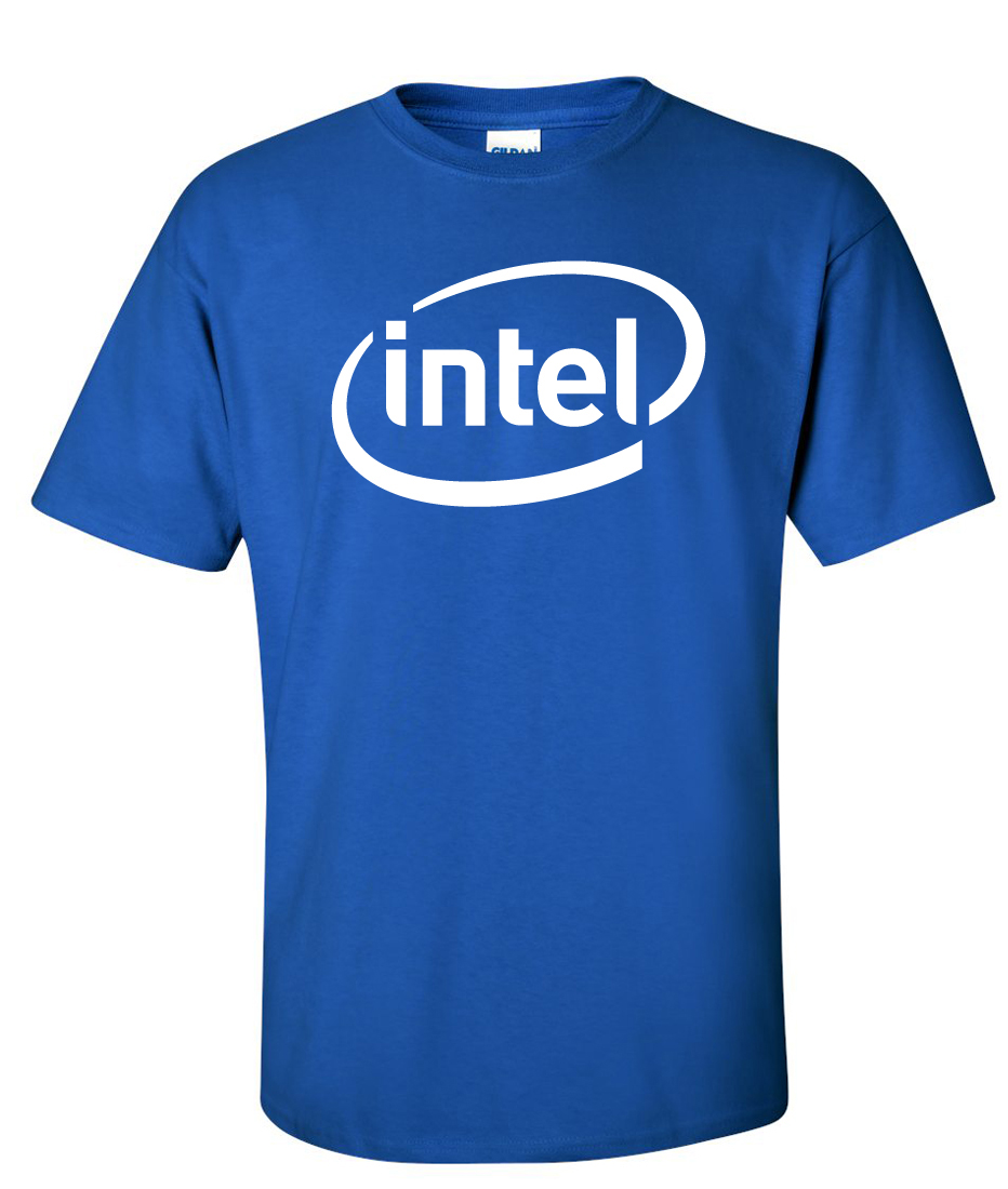Intel Inside Logo Graphic T Shirt Supergraphictees