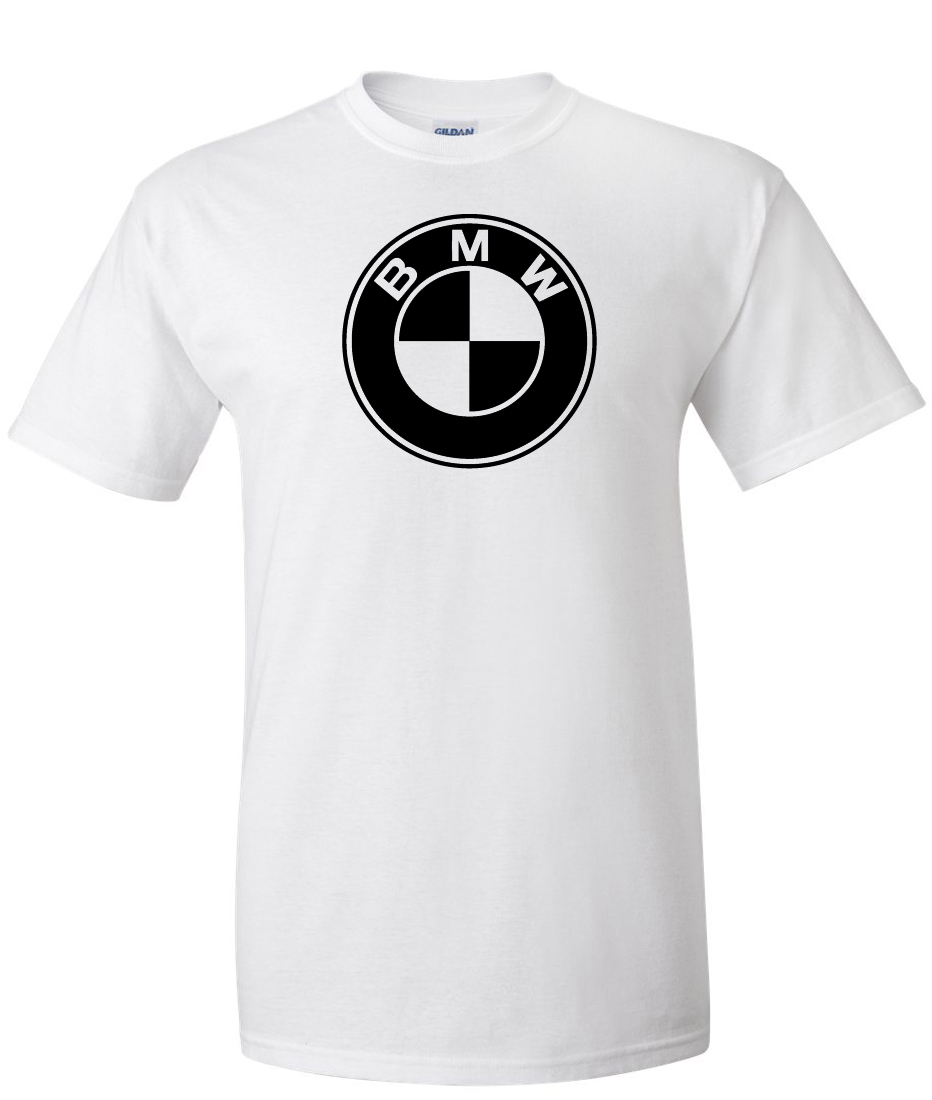 bmw logo graphic t shirt supergraphictees. Black Bedroom Furniture Sets. Home Design Ideas