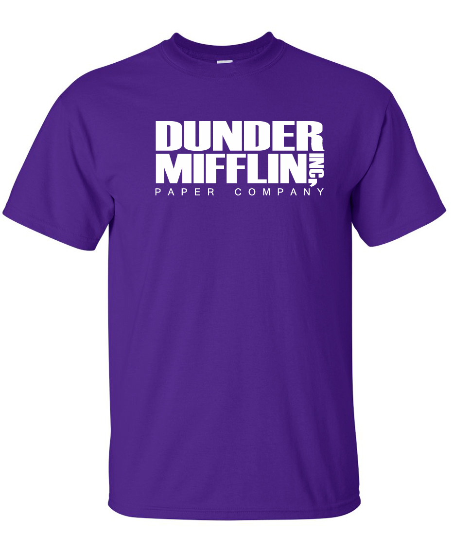 "dunder mifflin paper I was recently shopping for paper at staples when i had this thought: nbc should really license the ""dunder mifflin"" name to some paper company, and put it on."