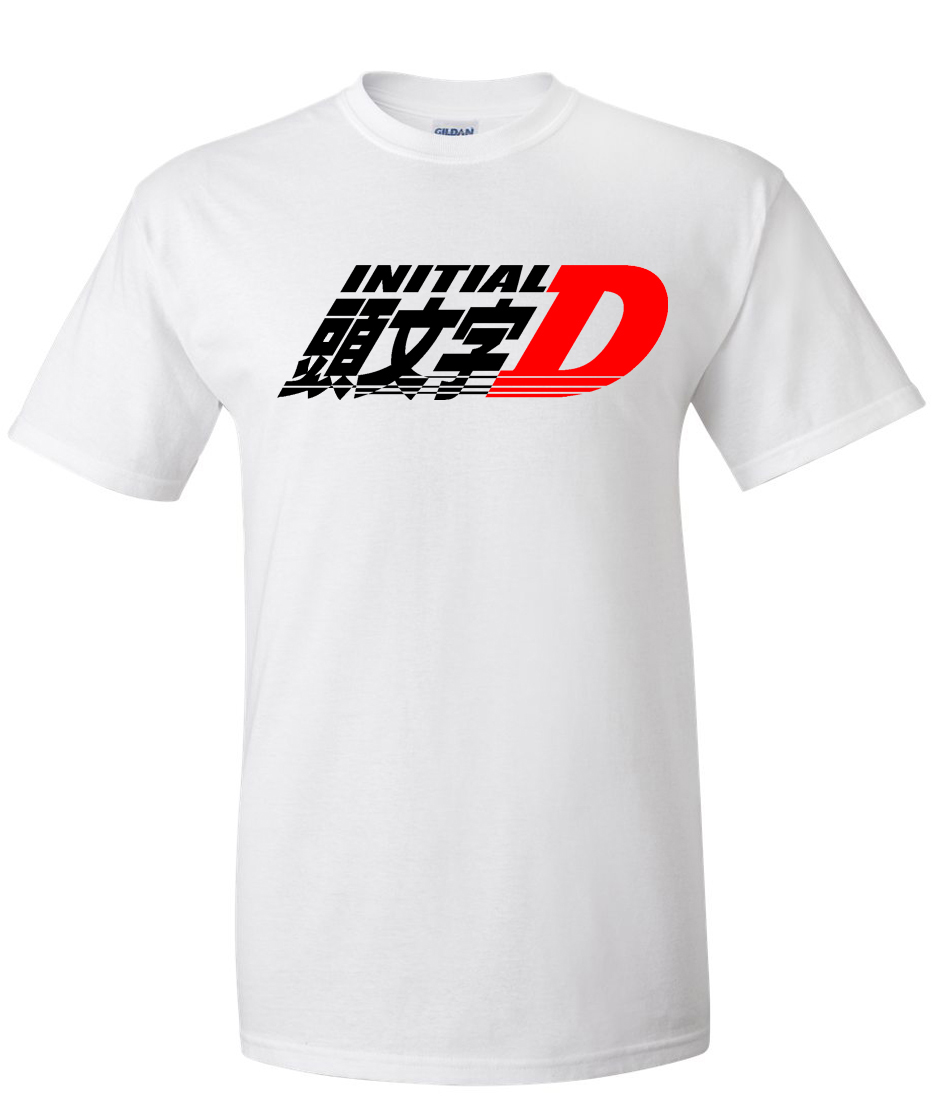Initial D Logo Graphic T Shirt