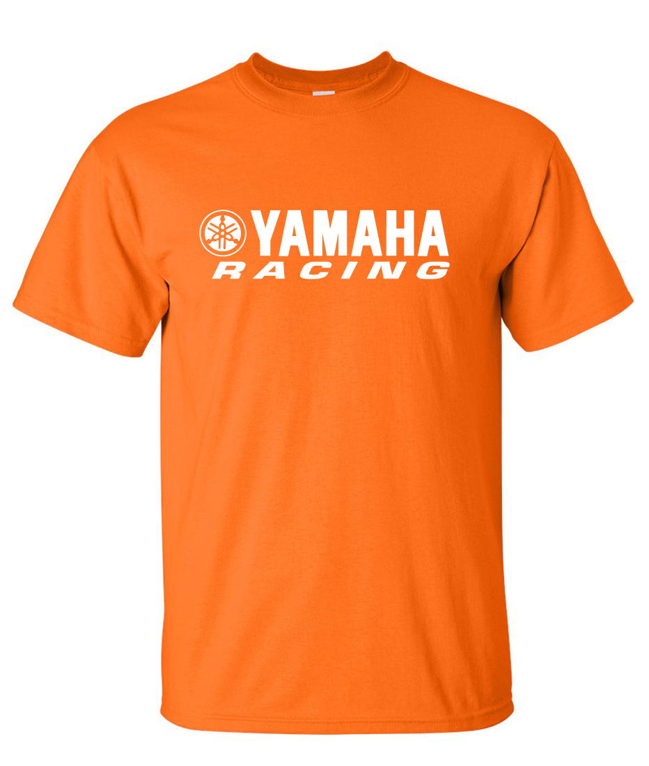 yamaha racing logo graphic t shirt supergraphictees. Black Bedroom Furniture Sets. Home Design Ideas
