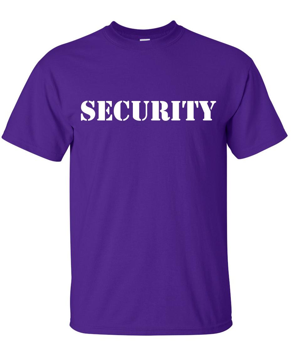 Security Logo Graphic T Shirt – Supergraphictees