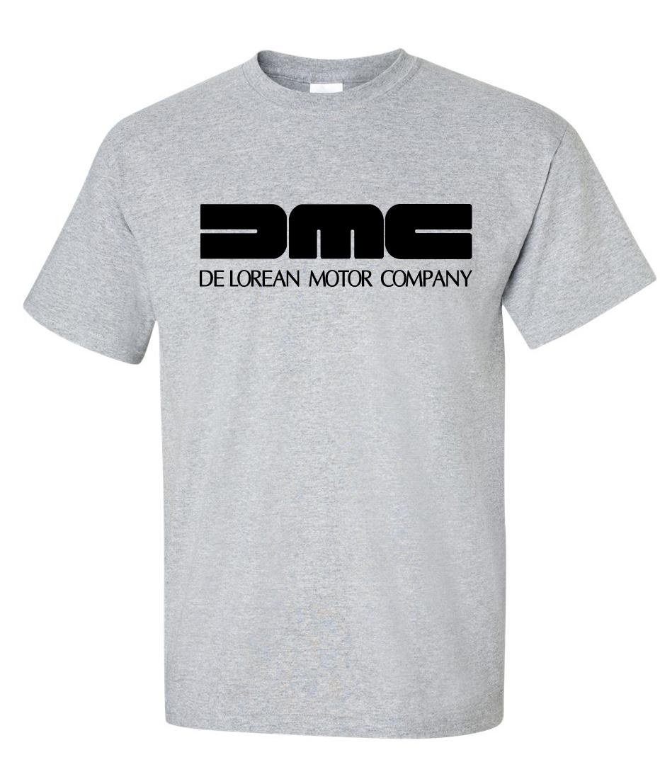 Dmc Delorean Motor Company Logo Graphic T Shirt