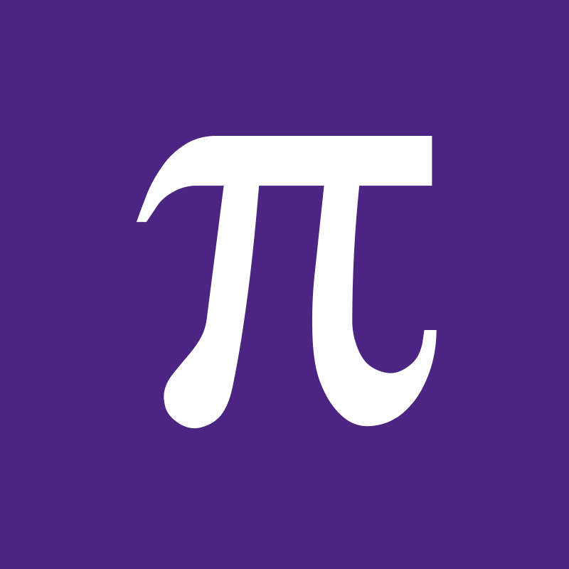 Pi symbol purple supergraphictees for Pi character