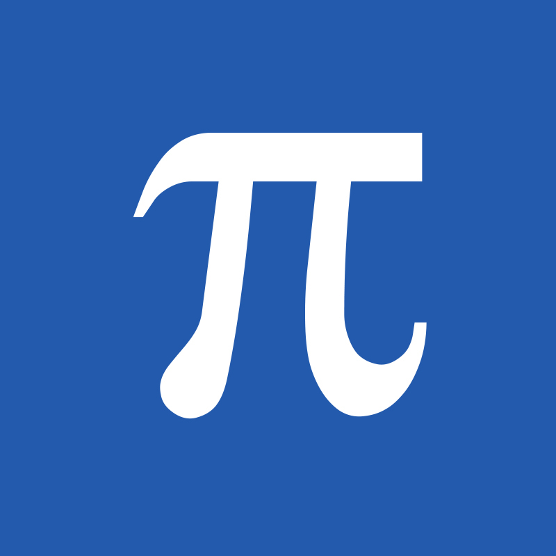 Mathematical symbols pi images for Pi character