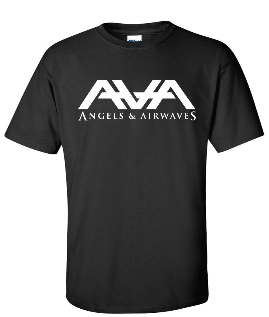 ANGELS AND AIRWAVES LOGO Long Sleeve New T-shirt Rock Band Shirt Long Sleeve Tee