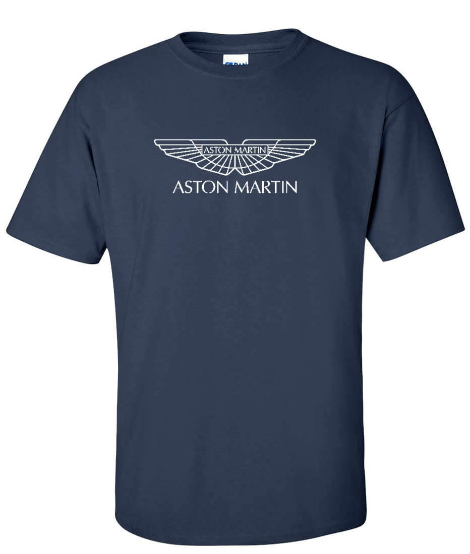 Aston Martin Logo Graphic T Shirt