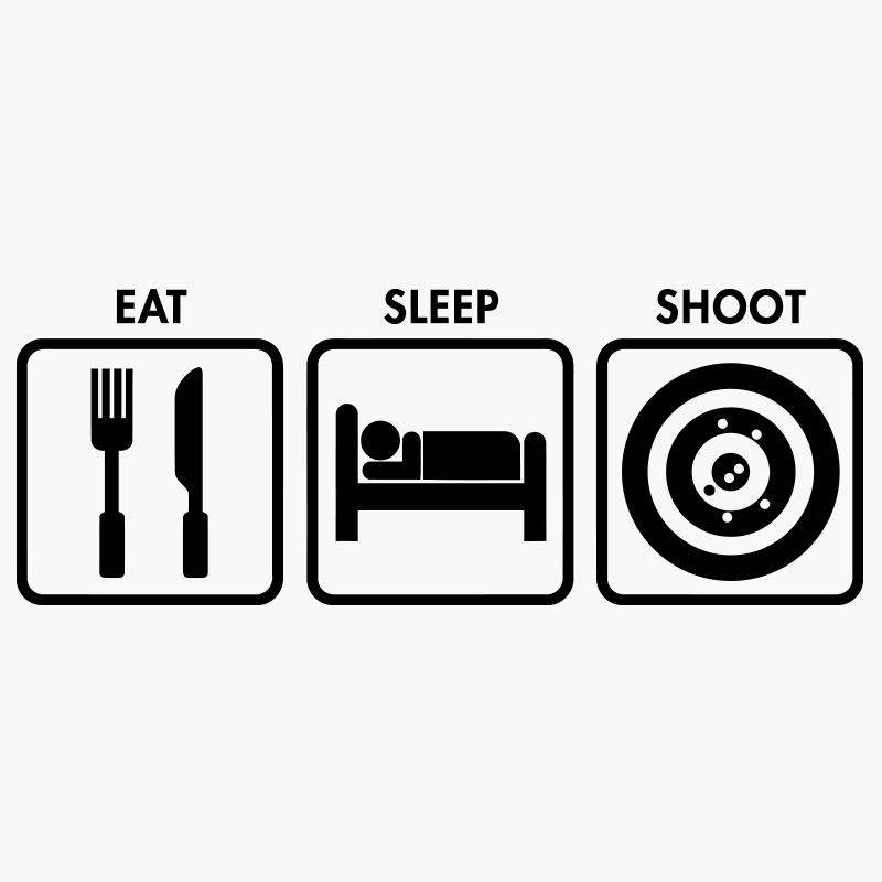 eat sleep race logo - photo #33