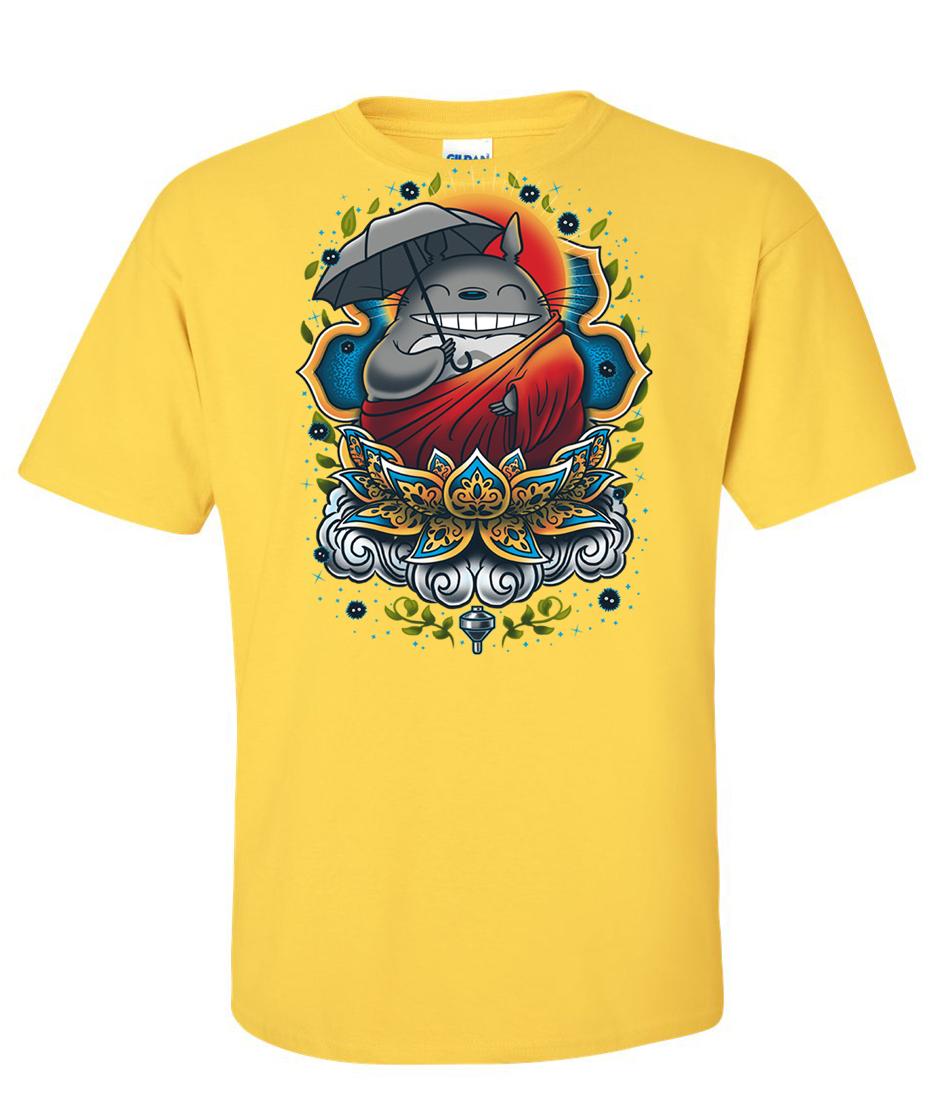 Enlightened Neighbor Totoro Logo Graphic T Shirt ...