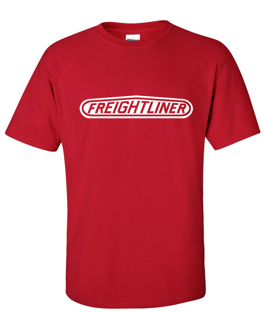 Freightliner Trucks Logo Graphic T Shirt – Supergraphictees