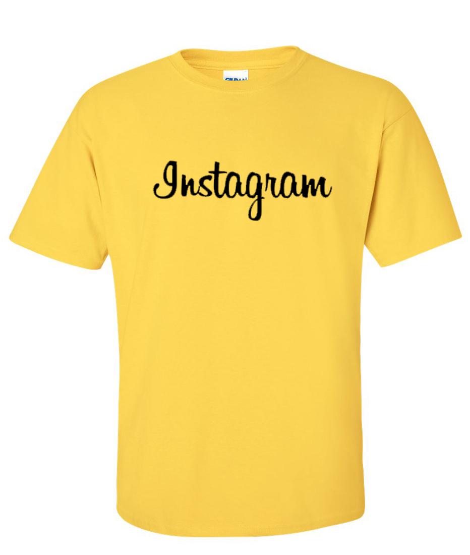 Instagram Logo Graphic T Shirt - Supergraphictees
