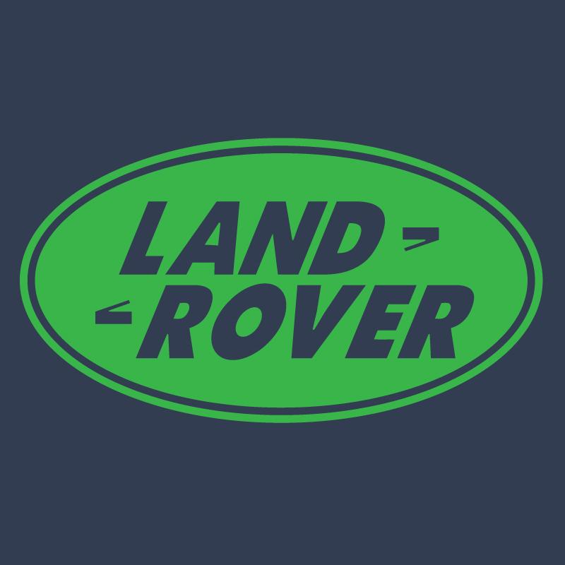 land rover logo graphic t shirt supergraphictees. Black Bedroom Furniture Sets. Home Design Ideas