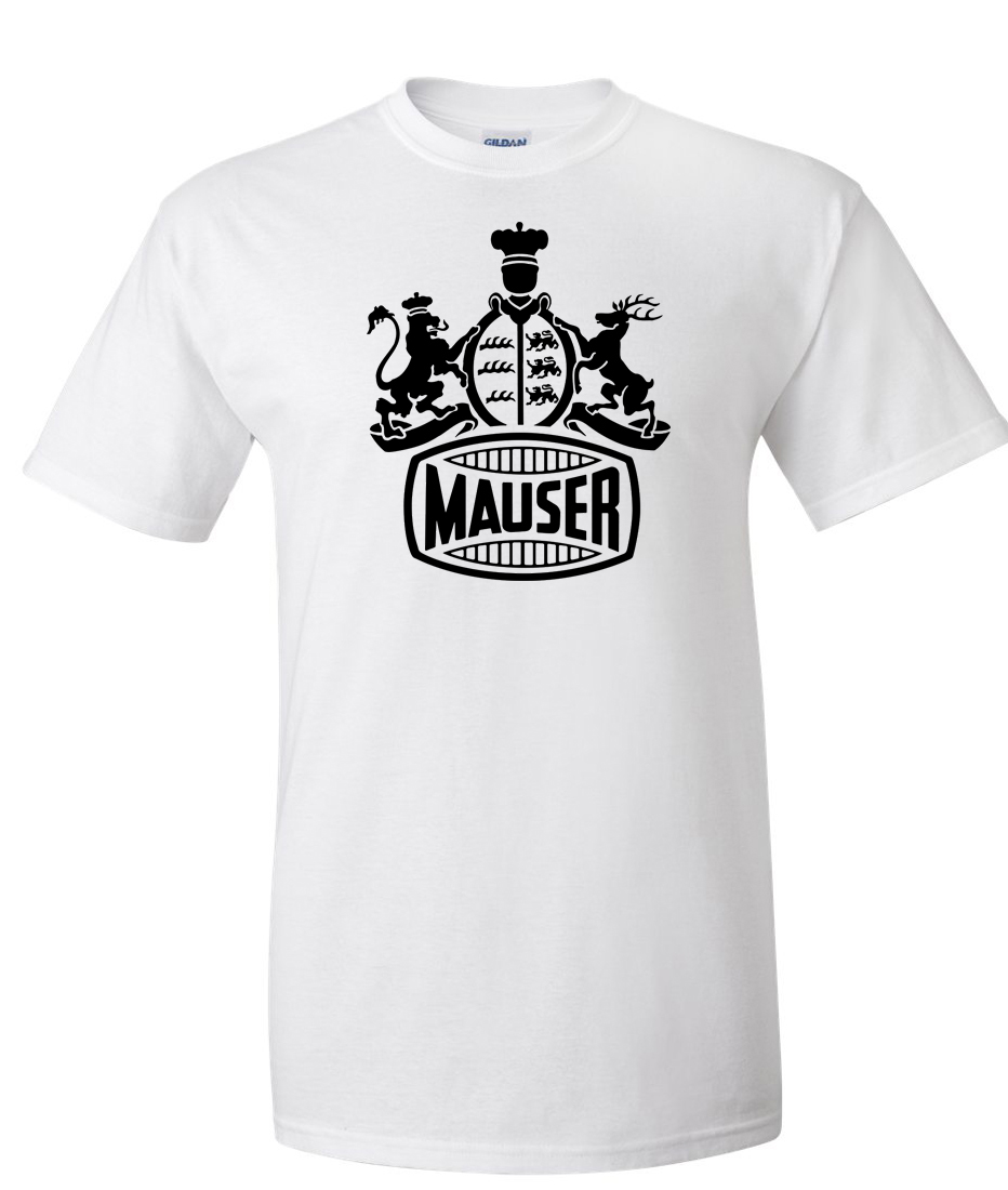 Mauser Firearms Logo Graphic T Shirt Supergraphictees