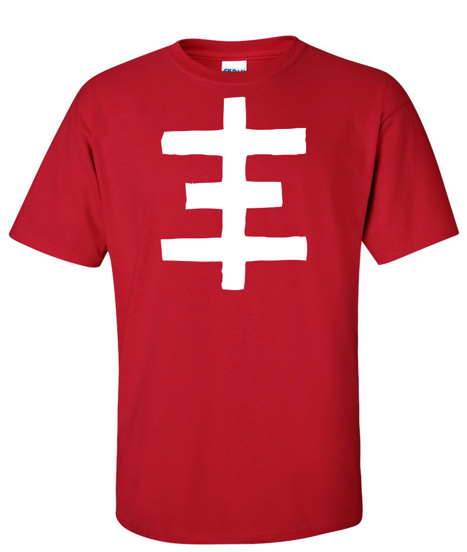 Psychic tv topy psychic cross logo graphic t shirt for Cross counter tv shirts