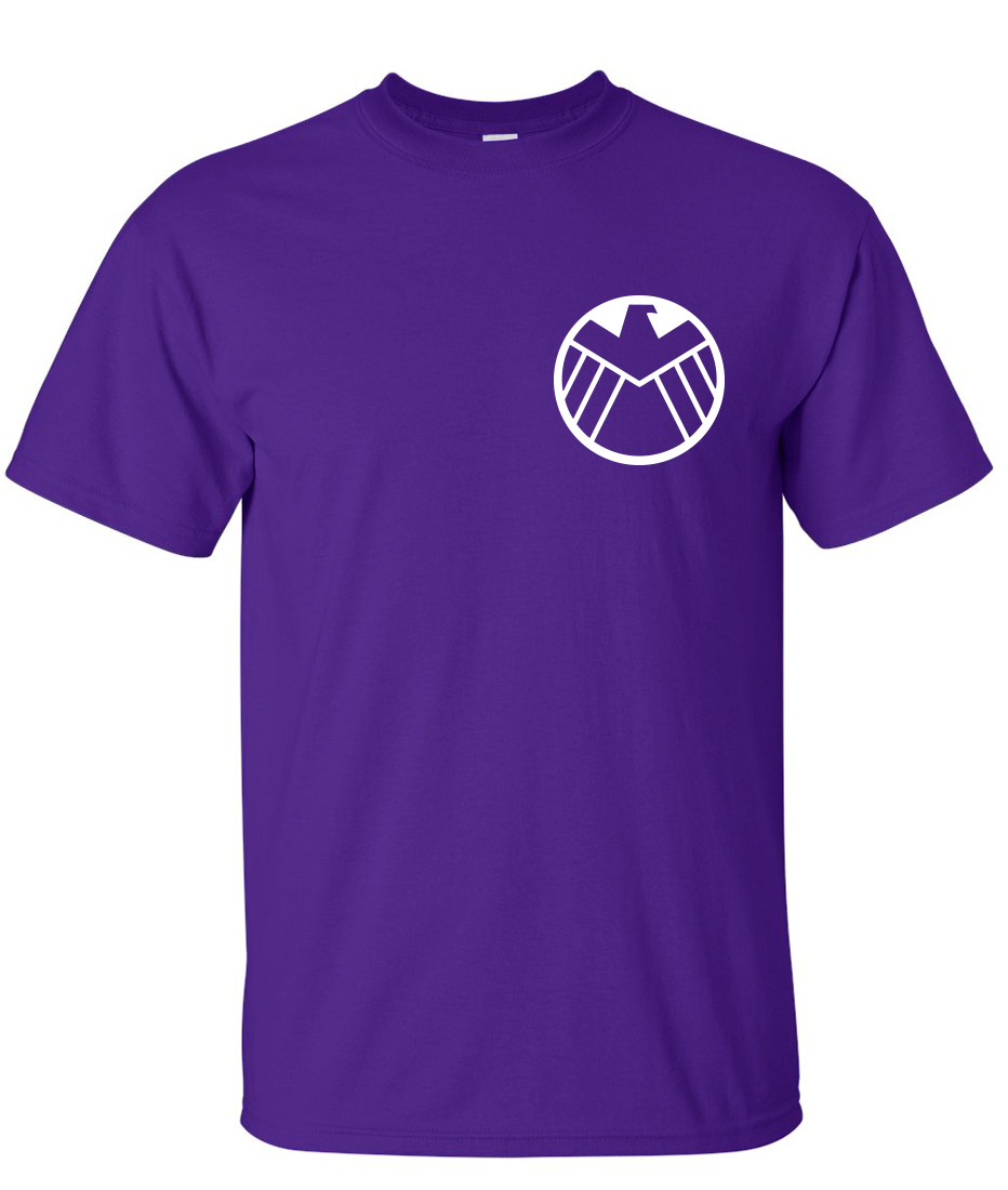 Shield Agents Logo Shield Logo Purple