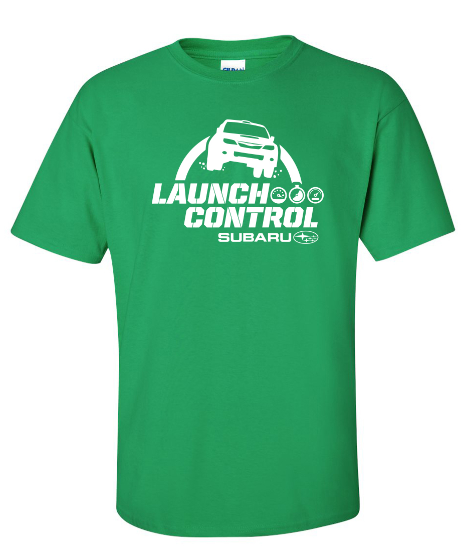 Subaru Launch Control >> Subaru Launch Control WRC Rally Logo Graphic T Shirt