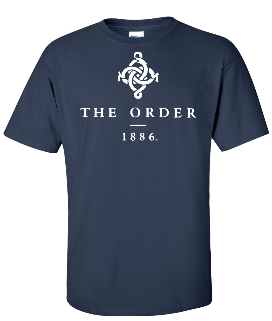 The Order 1886 Navy Blue Supergraphictees